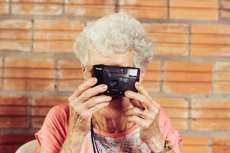 grandmother-old-lady-photographer-kodak-camera